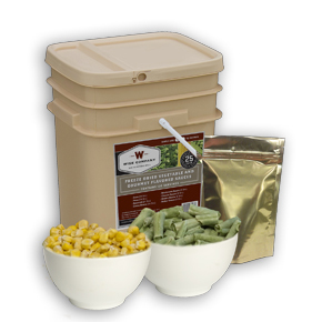 120-Serving Freeze Dried Vegetables and Sauces