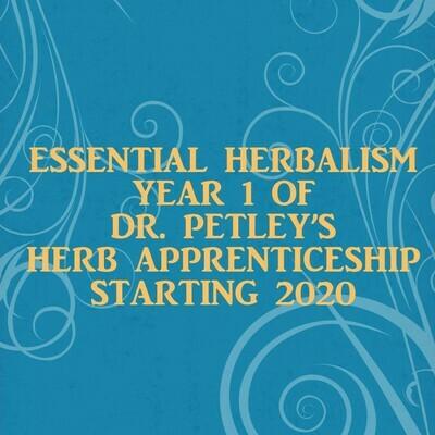 Essential Herbalism (Year 1 Herb Apprenticeship)