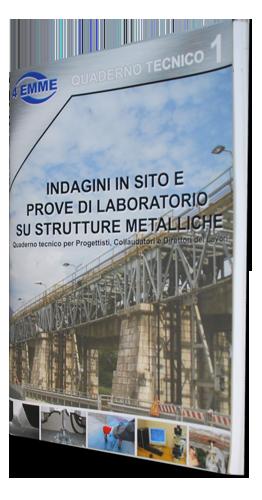 Indagini in sito e prove di laboratorio su strutture metalliche - 40 pagine 1