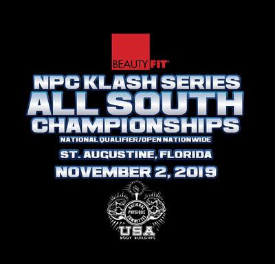 2018 NPC KLASH SERIES ALL SOUTH PREJUDGING TICKET