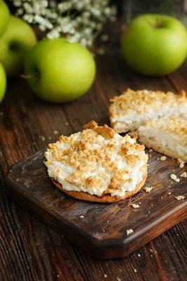 Пирог-шарлотка с яблоком  (III,IV)