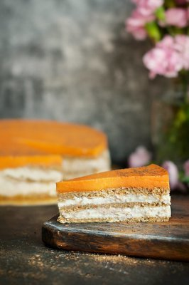 Морковный торт  (II,III,IV)