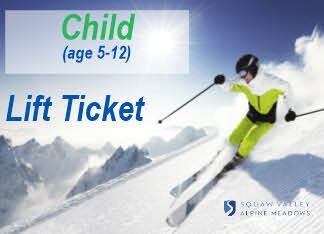 Lift Ticket CHILD (5-12) 1 day