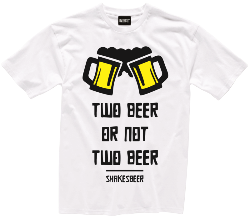 T-shirt TWO BEER