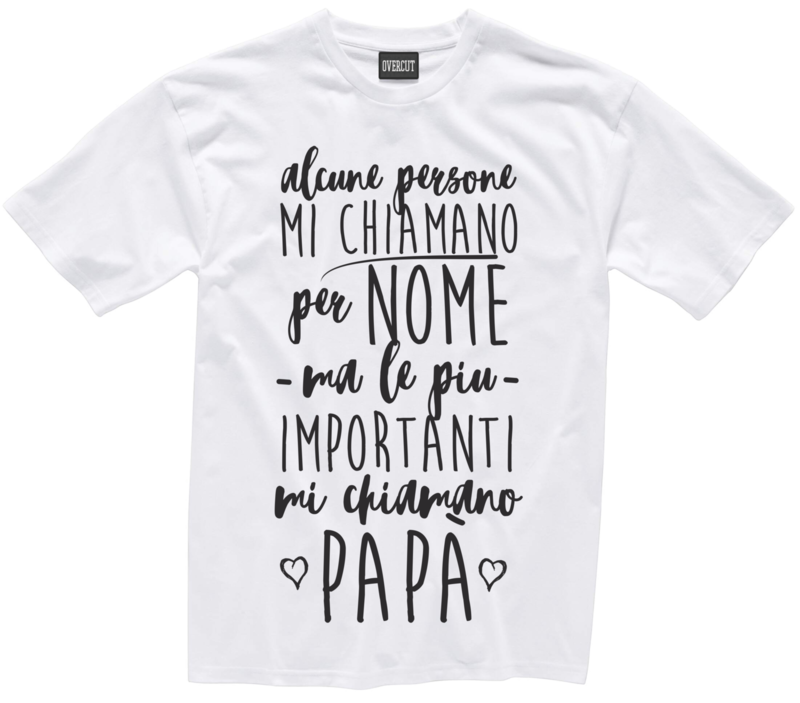 T-shirt MI CHIAMANO PAPA'
