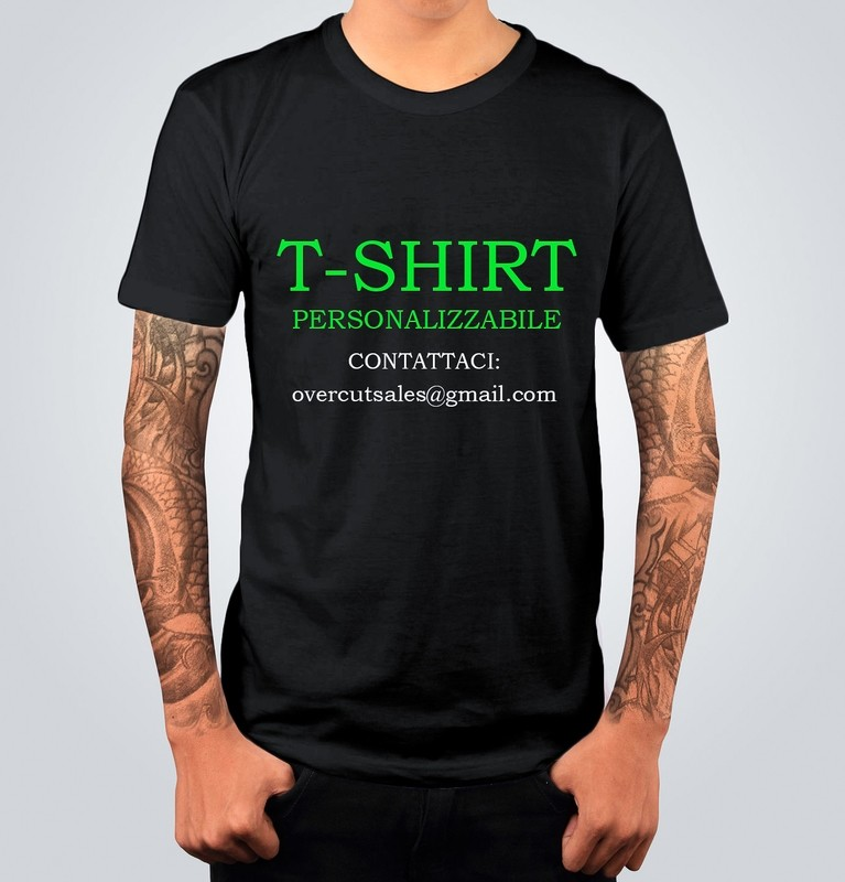 T-shirt PERSONALIZZABILE
