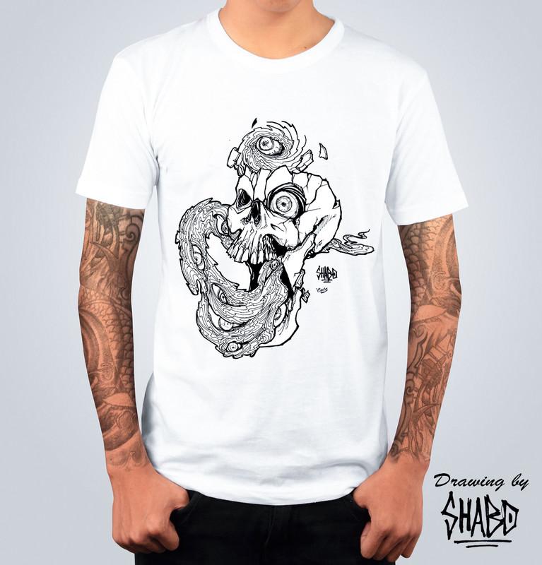 T-shirt Kaos Bianca