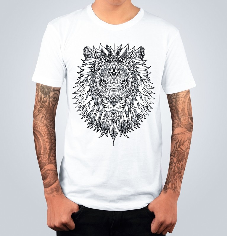 T-shirt LION Bianca
