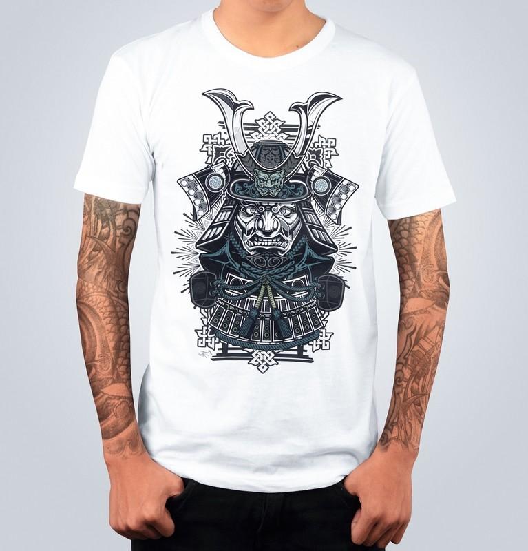 T-shirt SAMURAI Bianca