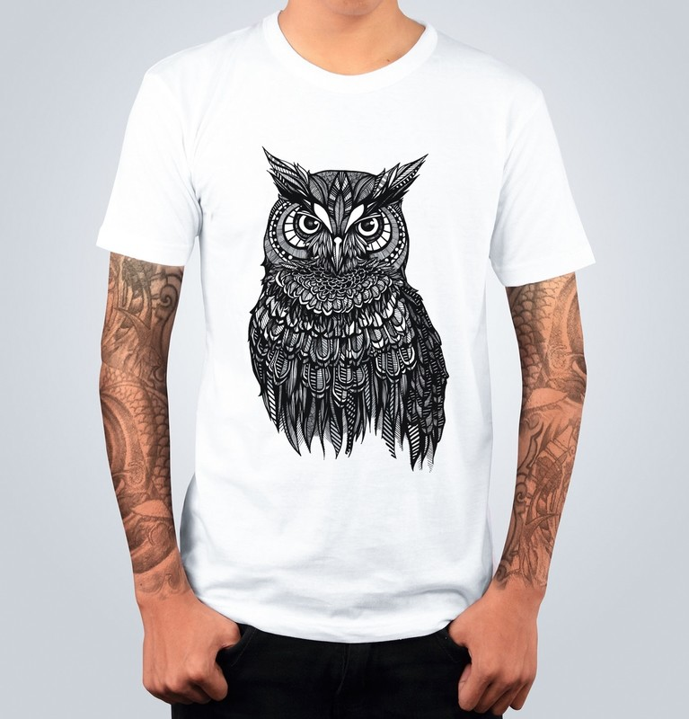 T-shirt OWL Bianca
