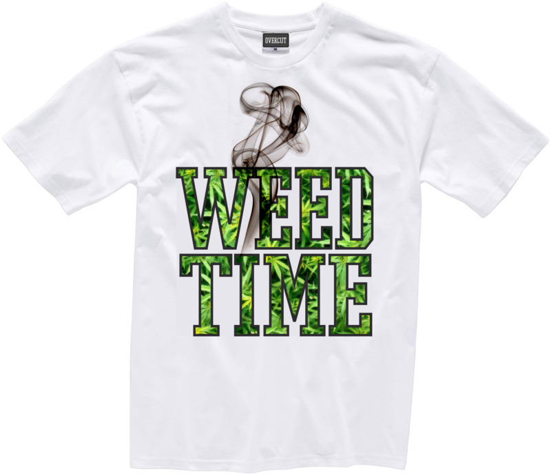 T-shirt WEED TIME