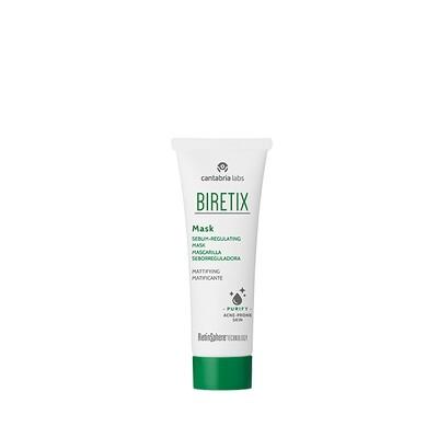 BIRETIX MASK. Astringente-Matificante. Mascarilla seborreguladora que controla el exceso de grasa y combate la oclusión de los poros.