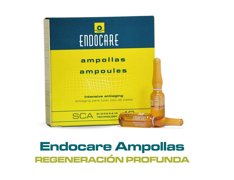 ENDOCARE Ampollas 7x 1ml. Gran potencia regeneradora, hidratante y antioxidante lucha contra los radicales libres, aporta luminosidad y mejora progresivamente los signos del fotoenvejecimiento.