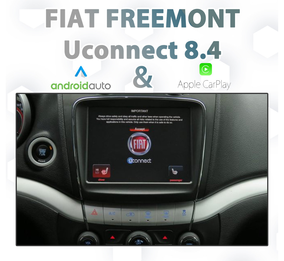 Fiat Freemont - UConnect 8 4