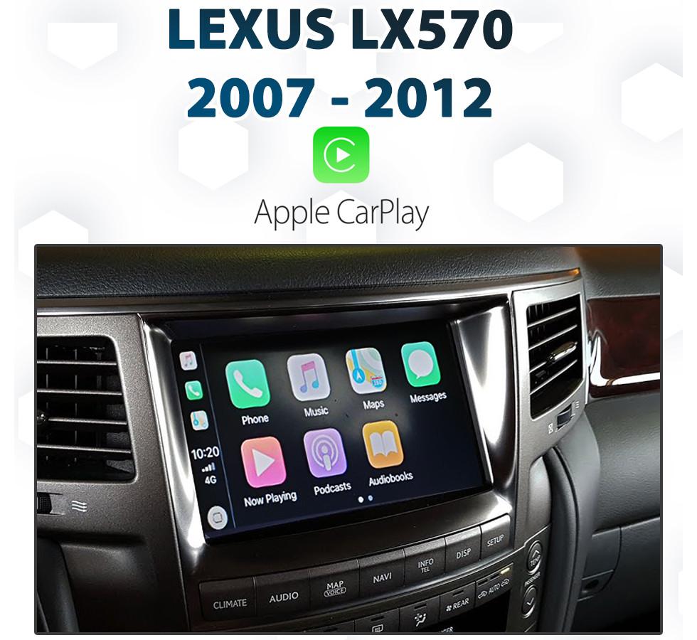 Lexus Apple Carplay >> Lexus Lx570 2007 2012 Factory Audio Integrated Apple Carplay