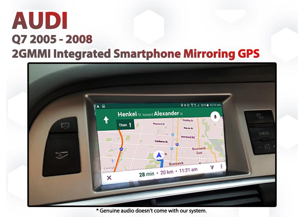 audi q7 2g mmi mirrorlink carplay android auto gps naviplus com au. Black Bedroom Furniture Sets. Home Design Ideas