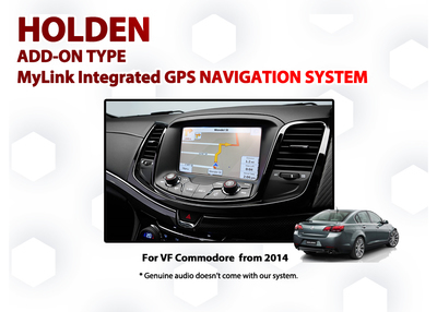 Holden VF Commodore MyLink Add-on GPS Navigation Audio Map Upgrade SAT Nav