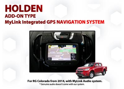 [2014 - Current] Holden RG Colorado MyLink Add-on GPS Navigation Audio  Upgrade System