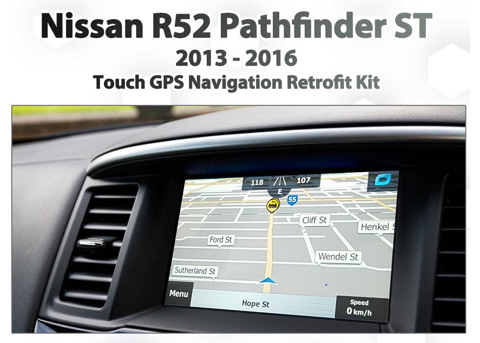 Igo Australia Map 2013.2013 Current Nissan R52 Pathfinder Nissan Audio Add On Touch Gps Navigation Map Upgrade Sat Nav