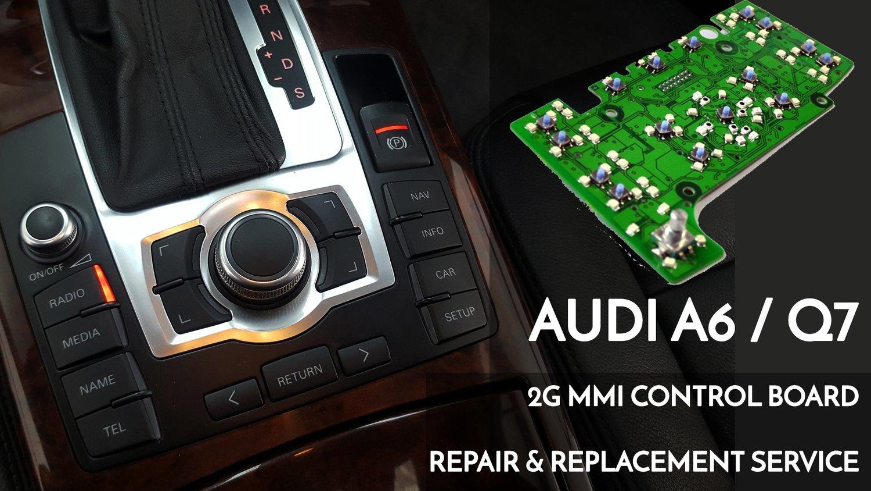 Audi A6 / Q7 2G MMi Navigation control PCB electrical board OEM repair and  Replacement service_4L0 919 609