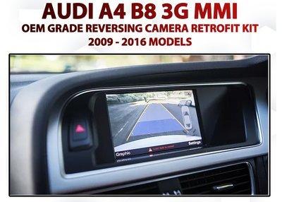 Audi 3G MMi Integrated Reversing Camera System