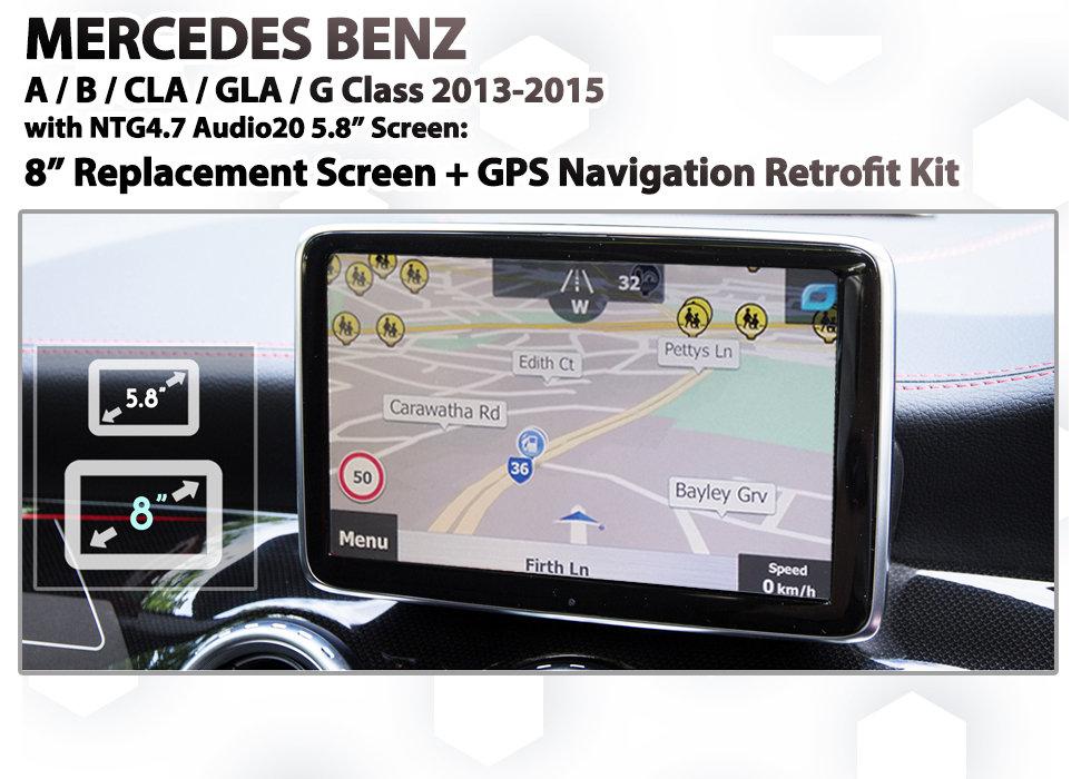 Mercedes Benz MB80 - NTG 4 5 / 4 7 / Audio20 / COMAND 8