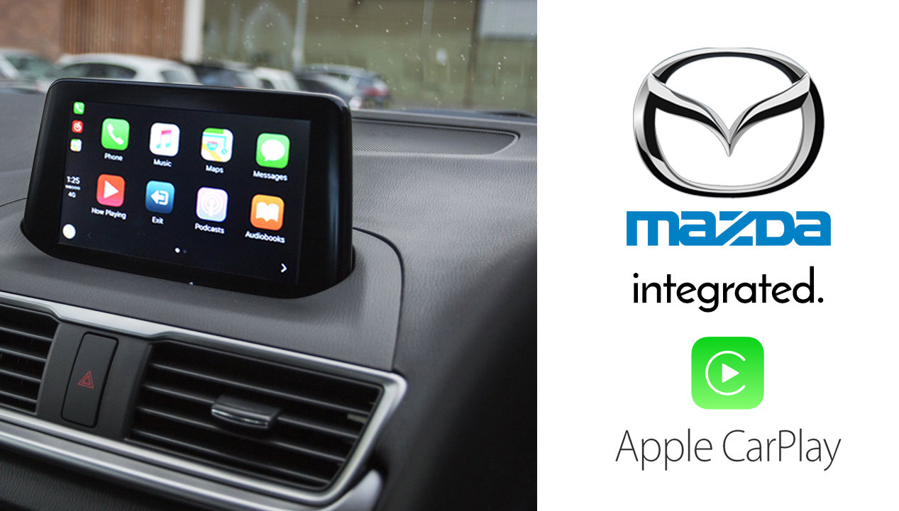 Apple Carplay Retrofit Kit For Mazdaconnect Mazda 2 3 6 Mx5 Cx