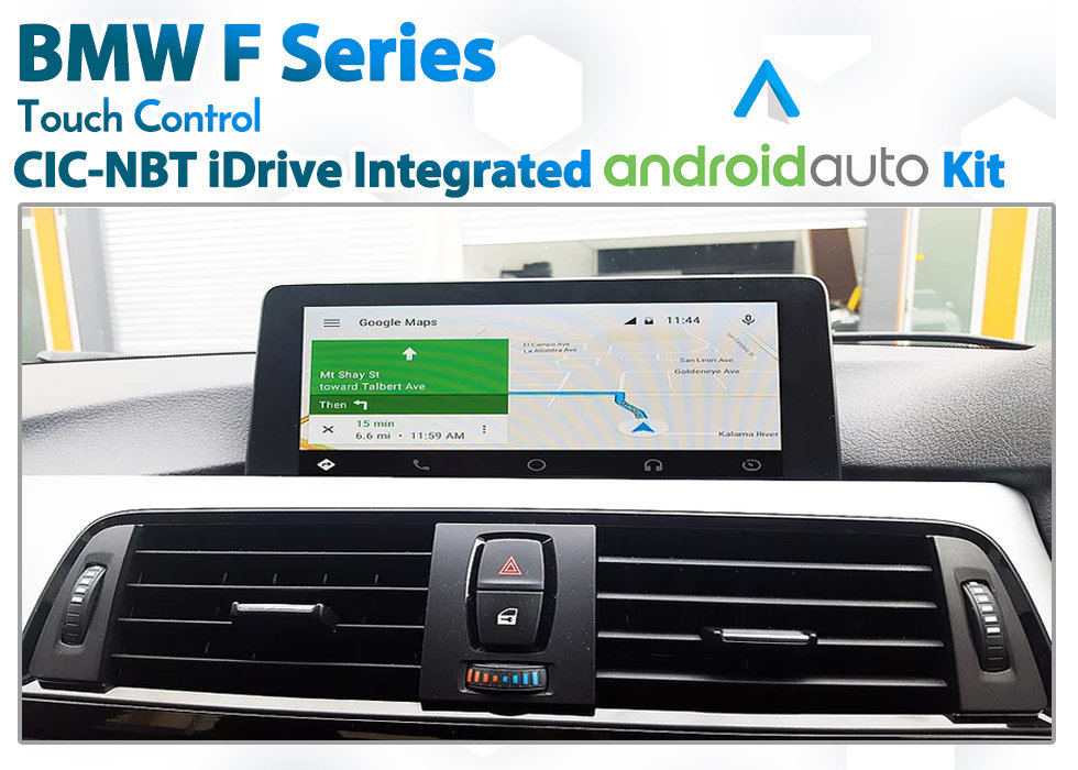 BMW F Series iDrive CIC NBT - Touch Android Auto Retrofit Kit