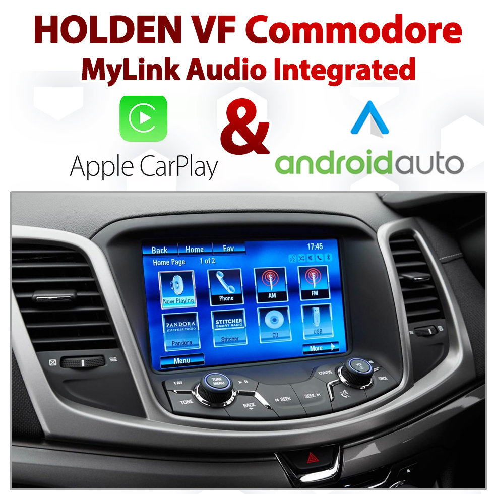 Holden VF Commodore / Chevrolet SS MyLink Integrated Android Auto & Apple  CarPlay Package Kit