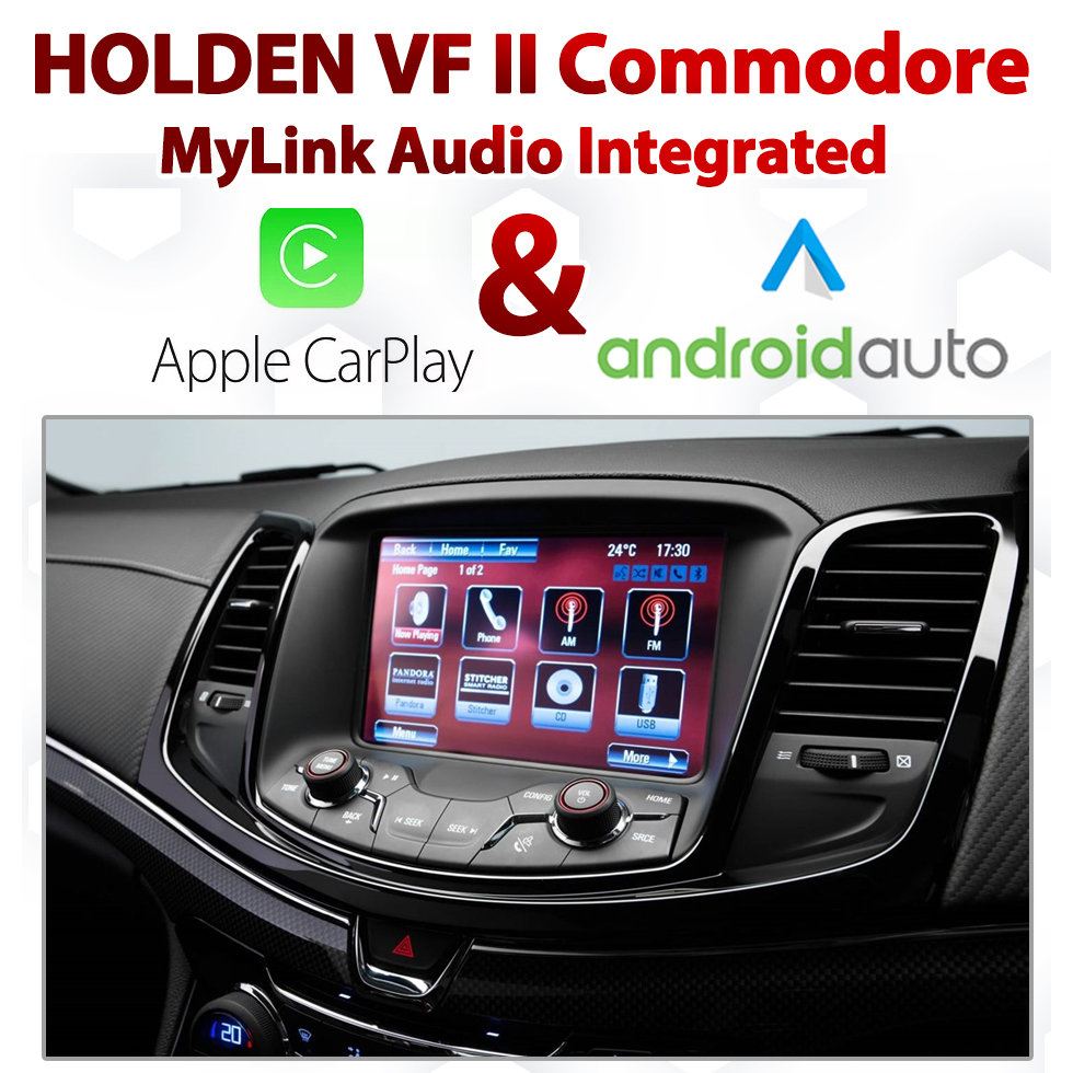 Holden VF Series II Commodore / Chevrolet SS MyLink Integrated Android Auto  & Apple CarPlay Package Kit