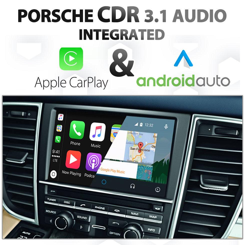 Porsche Cayenne Panamera Cdr 3 1 Audio Integrated Apple Carplay