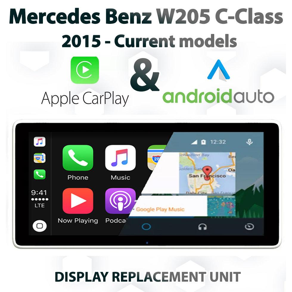 Mercedes Benz W205 C-Class 10 25