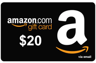 Amazon.com Gift Card de $20 20 AMZN - 24.26 PP