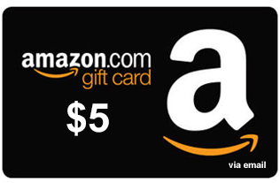 Amazon.com Gift Card de $5 5 AMZN - 6.99 PP