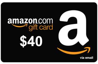 Amazon.com Gift Card de $40 40 AMZN - 45.84 PP