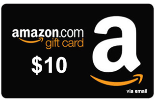 Amazon.com Gift Card de $10 10 AMZN - 13.30 PP
