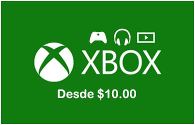 Xbox Gift Cards XBOX