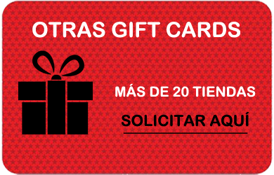 Gift Cards Otras Tiendas GIFTCARDS