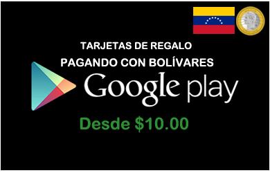 Google Play Gift Cards GOOGLEPLAY_BSF