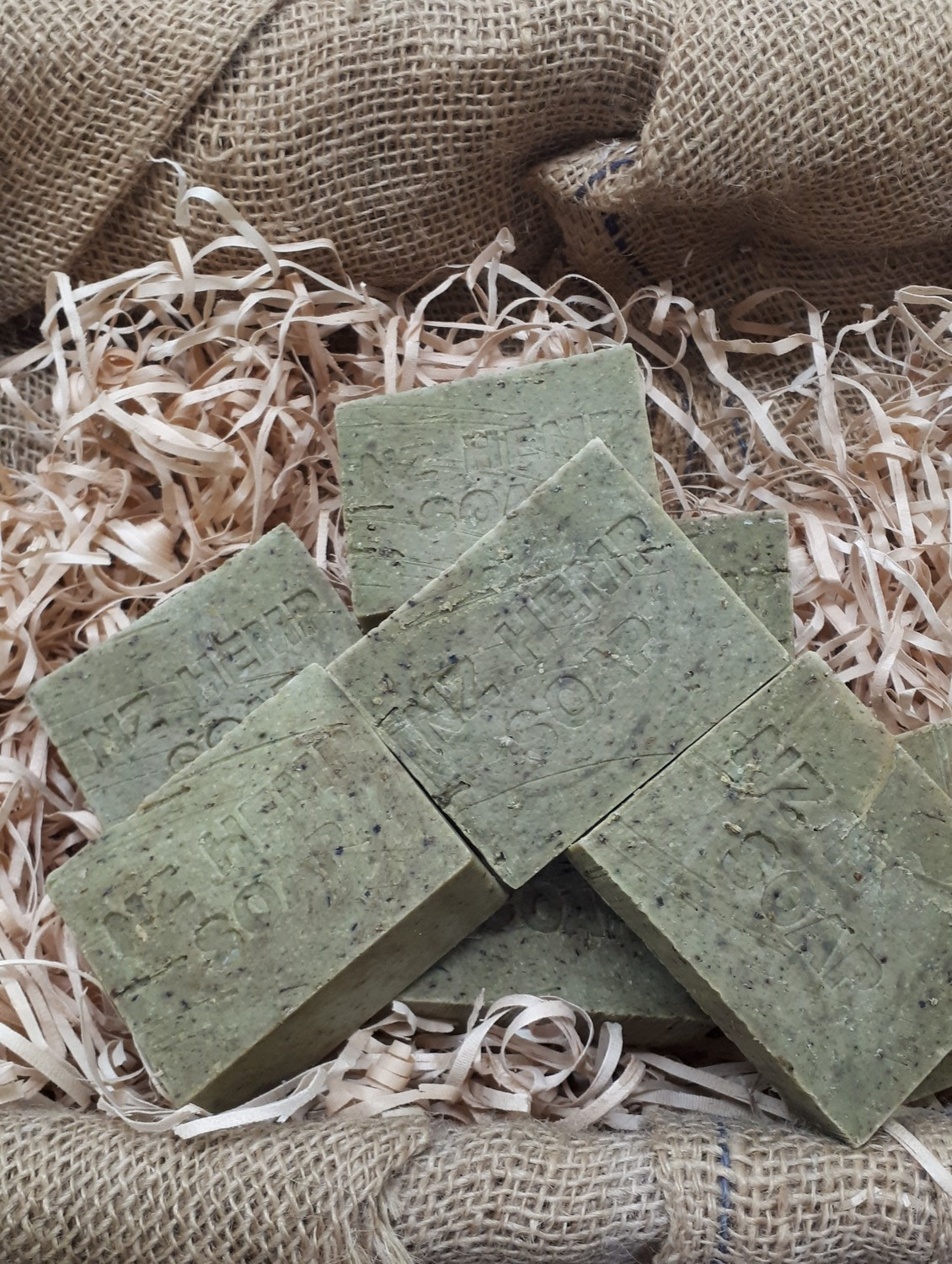 No Promises HEMP 30% and TEE TREE soap