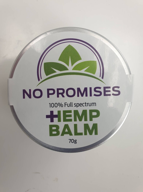 NO PROMISES Whole plant Hemp root Balm 70ml