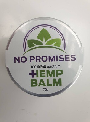 NO PROMISES Whole plant Hemp root Balm 70ml