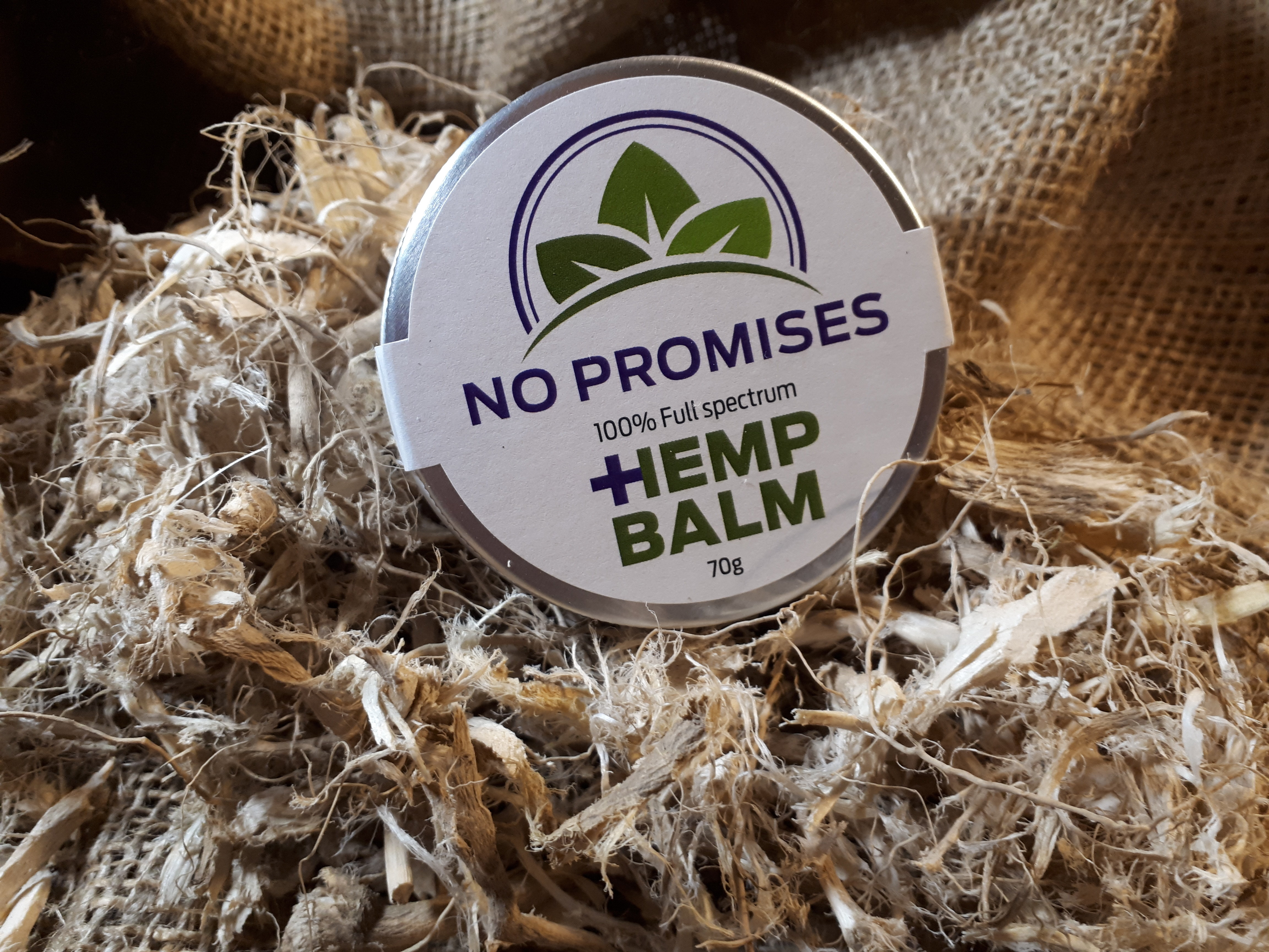 NO PROMISES Whole plant Hemp root Balm 70ml IHEMP MAG SPECIAL Normally $35.00 0000005