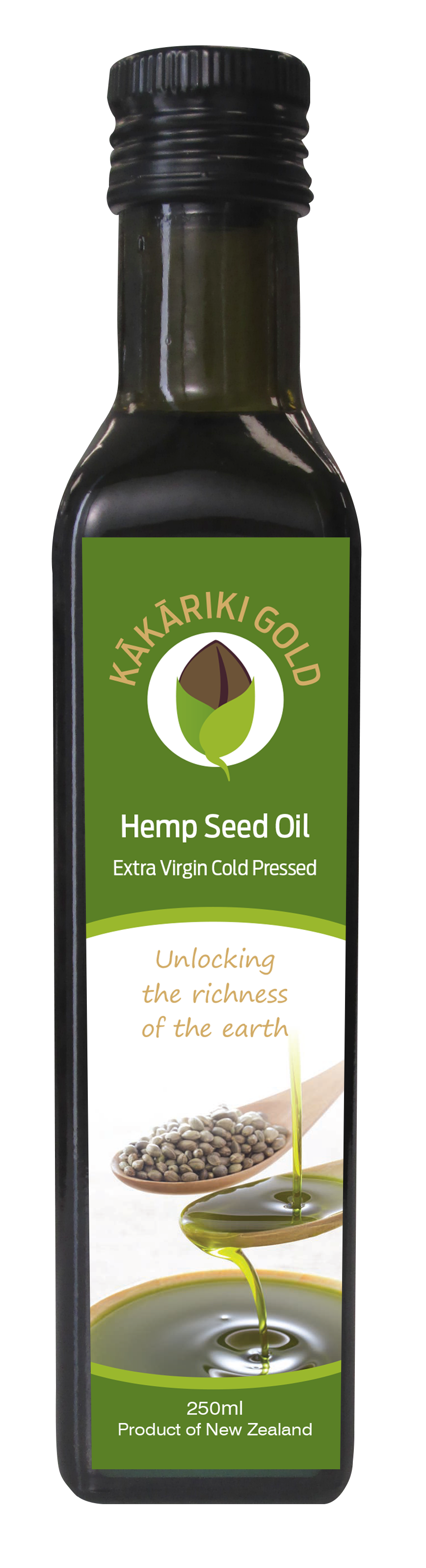 Kakariki Gold Pure NZ Hemp Oil 250g (not a cheaper imported oil just pure NZ) 036