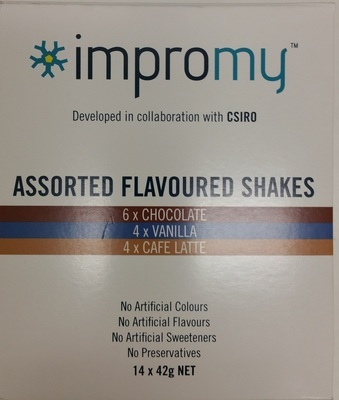 IMPROMY SHAKES (ASSORTED PACK) x14 (Instore pickup only)