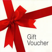 GIFT VOUCHER for our store