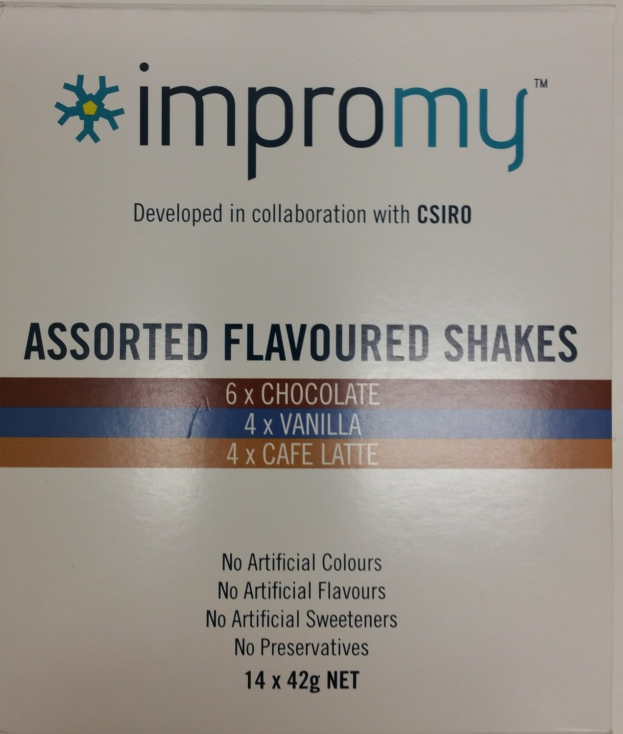 IMPROMY SHAKES - ASSORTED PACK - BOX of 14
