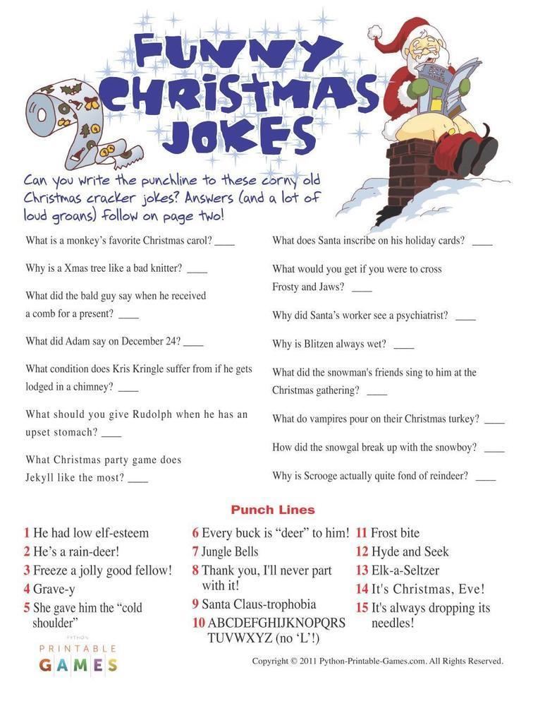 Christmas: Christmas Funny Jokes