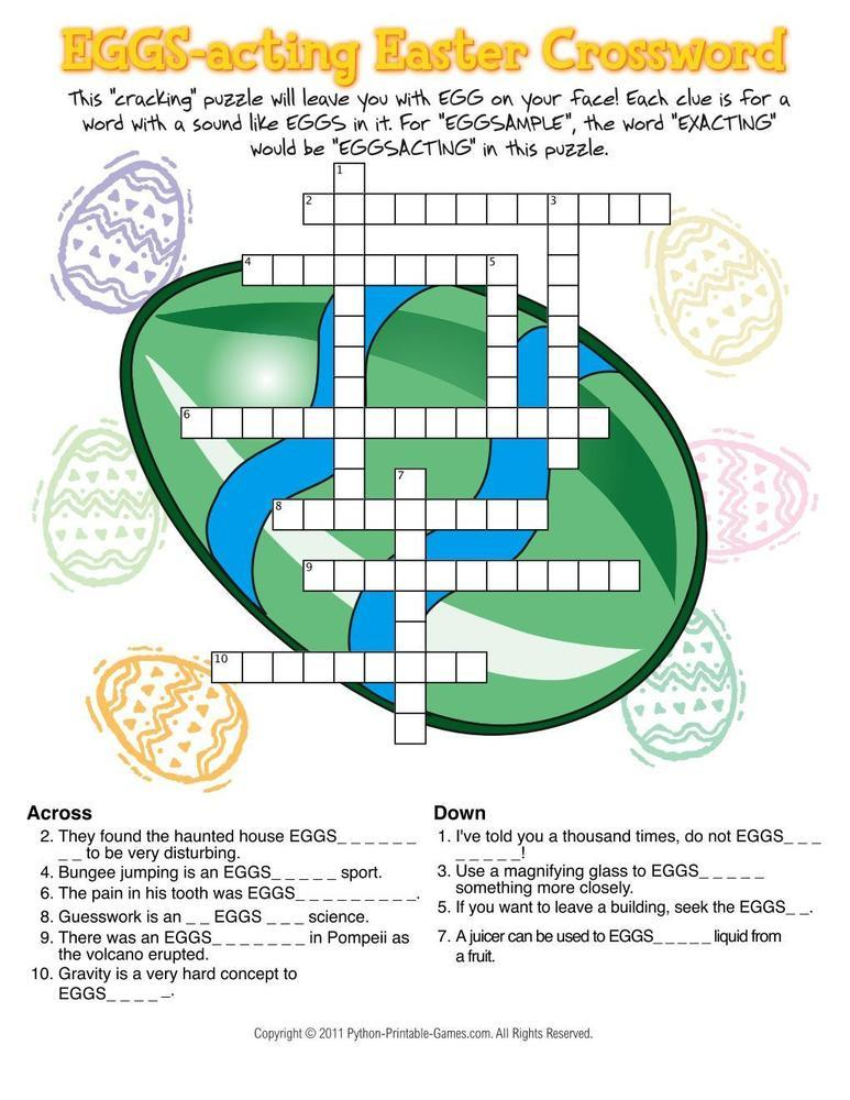 Easter: Egg Facts Trivia Game
