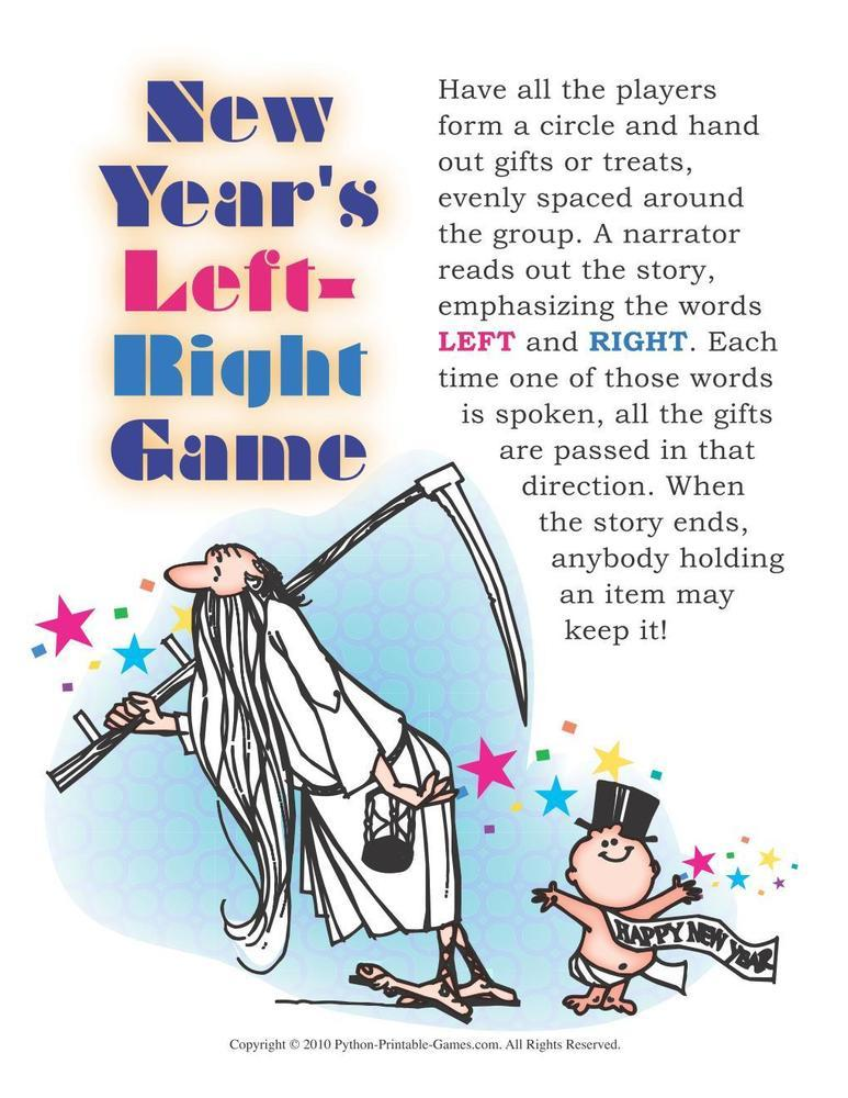 New Year's Eve: Left Right